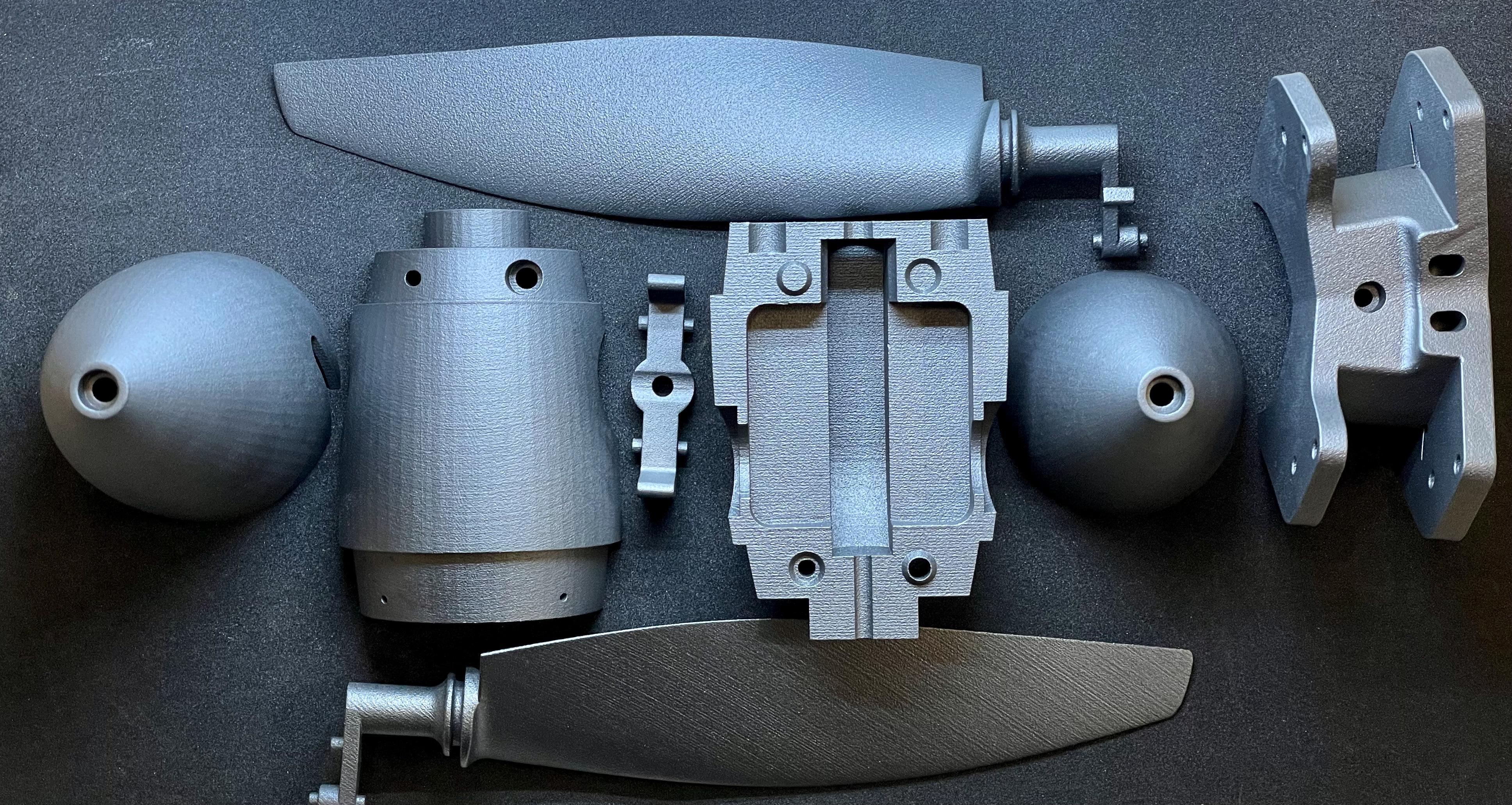 3D printed end parts